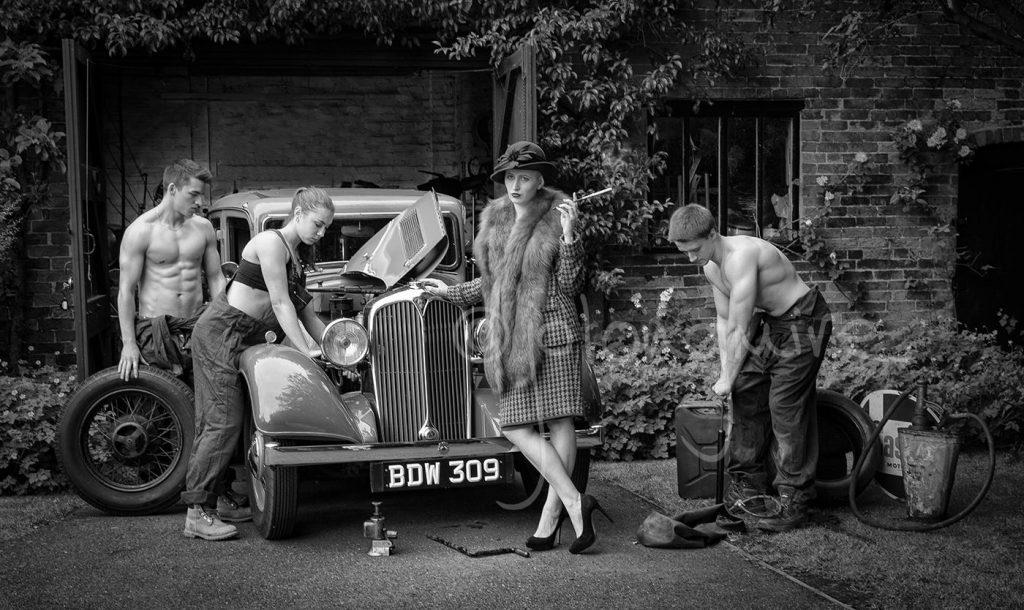 Fixing Her Ladyship's Car