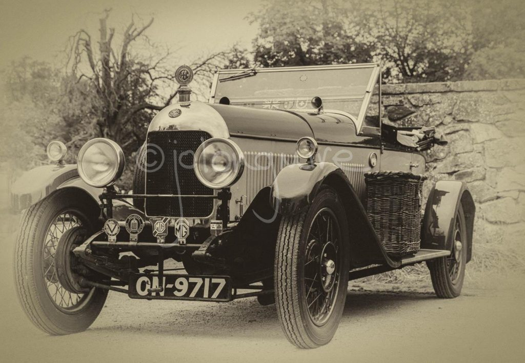 Vintage Morris Oxford